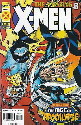 """THE AGE OF APOCALYPSE: THE AMAZING X-MEN #2 of 4 (1995) MARVEL COMICS V/F+"