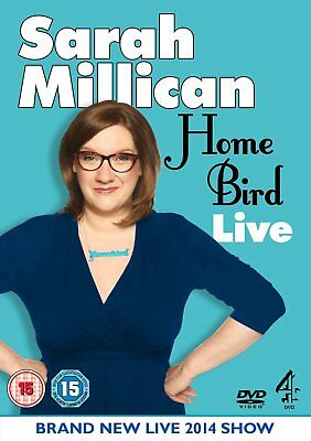 Sarah Millican Home Bird Live Region 2 New DVD