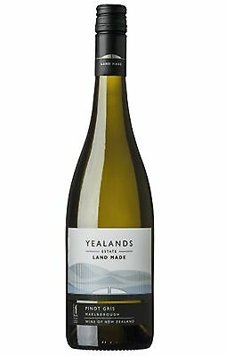 6 X Yealands Estate Land Made Marlborough Pinot Gris 2016