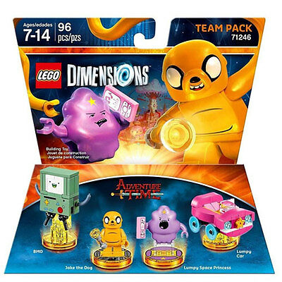 Lego Dimensions 71246 Team Pack Adventure Time Neu & OVP