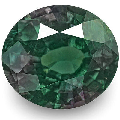 0.63-Carat Magical Alexandrite with Strong Green-to-Red Color Change (IGI)