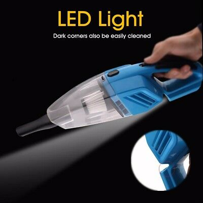 Portable 12V 120W Vehicle Car Handheld LED LIGHT Vacuum Dirt Cleaner Wet & Dry