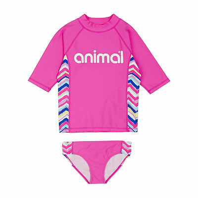 Animal Surf Tees - Animal Wave Pool Surf Tee - Lily Pink
