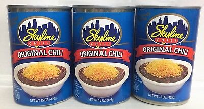 Skyline Original Chili 15 oz ( 3 Cans )