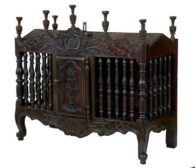 Early 19Th Century French Carved Walnut Panetiere