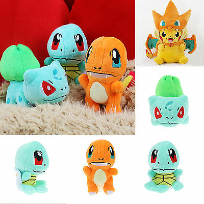 Pokemon Peluches Animal Blandito Pikachu Charmander Squirtle Juguete Peluche