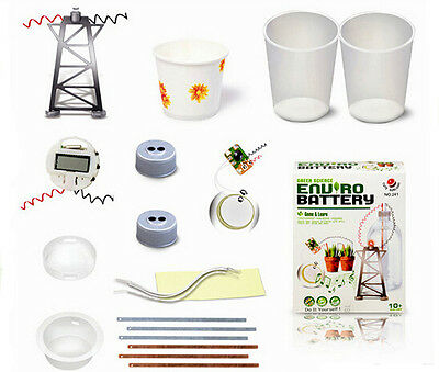 Kids Green Science Enviro Battery Kit Great Educational Toy Christmas Gifts