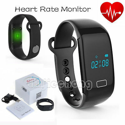JW018 Smart Watch Bracelet Pedometer Heart Rate Monitor Bluetooth Android Wear