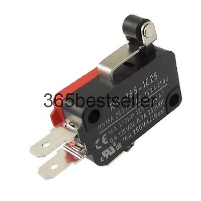 SPDT Short Roller Hinge Lever 3 Pin Momentary Basic Limited Micro Switch