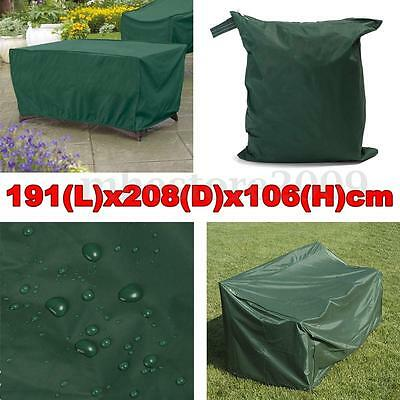191x208x106cm Outdoor Patio Yard Table Chair Furniture Rain Dust Protcet Cover