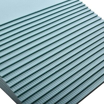20m² XPS GREEN Impact sound insulation Thermal panel Laminate Parquet 5mm