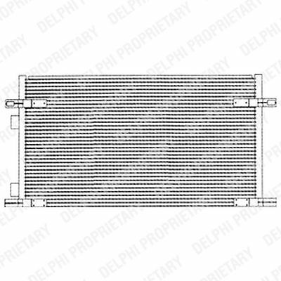 Genuine Delphi Condenser Air Con Conditioning TSP0225212