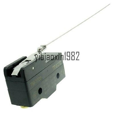 NEW TM-1705 Long Hinge Lever SPDT Momentary Micro Switch Ui 380V Ith 15A