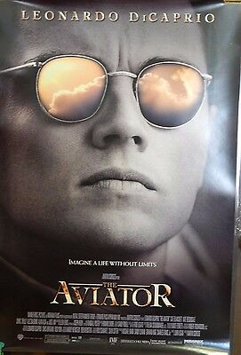 The Aviator 2004 original Single Sided 27x40 Movie Poster Leonardo Dicarpio B