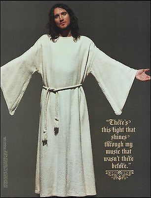 Red Hot Chili Peppers John Frusciante as Jesus 8 x 11 pin-up photo