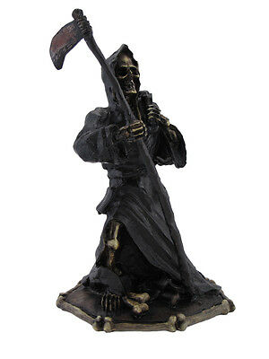 Grim Reaper and Bag of Bones Statue