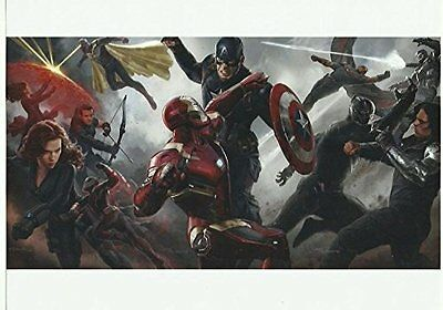 Captain America Civil War Group Fight 8 x 10 inch photo