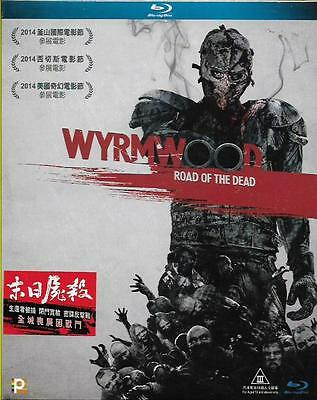 Wyrmwood Road of the Dead Blu Ray Jay Gallagher Bianca Bradey NEW Eng Sub Zombie
