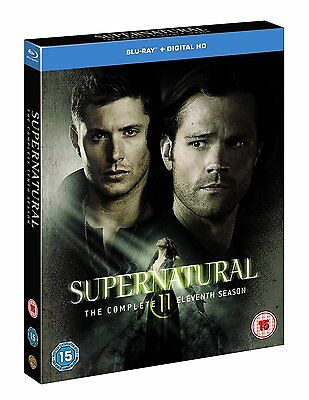 Supernatural The Complete Blu-Ray Season 11 Englisch