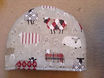 Red And Brown Sheep Tea Cosy
