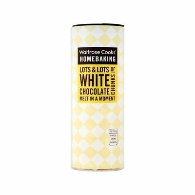 Cooks' Ingredients Belgian White Chocolate Chunks Waitrose 100g