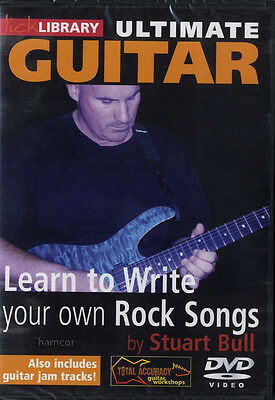 Ultimate Guitar Learn to Write Your Own Rock Songs Lick Library Tuition DVD