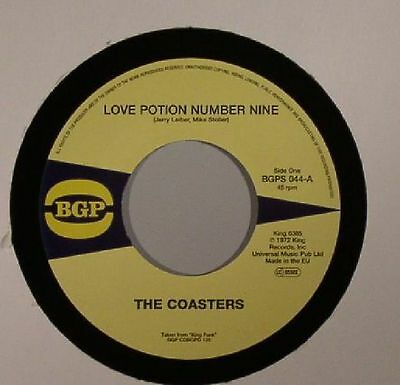 """COASTERS, The - Love Potion Number Nine - Vinyl (limited 7"""")"""