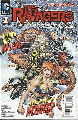 DC The Ravagers comic issue 1 The New 52