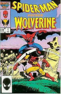 Spiderman versus Wolverine # 1 (one-shot) (USA, 1987)