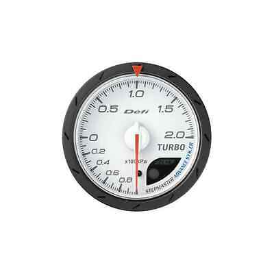 Defi 60Mm Advance Cr Turbo 200 Boost Gauge White