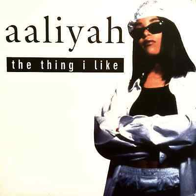 "AALIYAH - The Thing I Like (12"") (VG+/VG)"