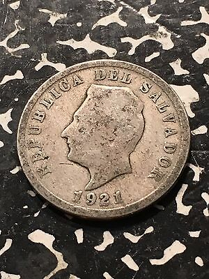 1921 El Salvador 5 Centavos Lot#4676