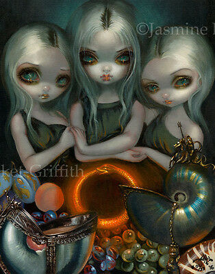 Allegory of Infinity Jasmine Becket-Griffith CANVAS PRINT pop surrealism art