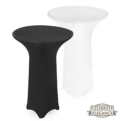 Fitted Seamless Spandex Round Tablecloth - Wedding Party Linens
