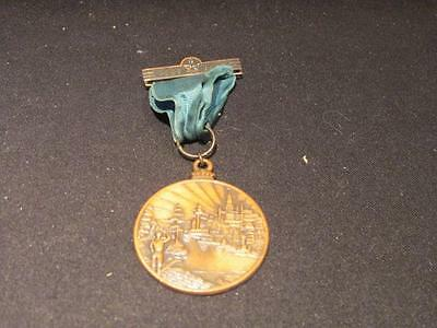 Sherbrooke 1837-1937 Centennial Medal on Ribbon with Clasp