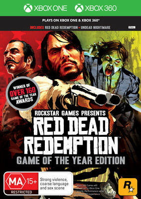 Red Dead Redemption Game Of The Year Edition XBOX 360 & ONE (PAL) Brand New