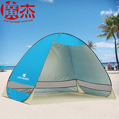 New Portable Outdoor Beach Canopy Sun Umbrella Fishing Camping Shelter Tent