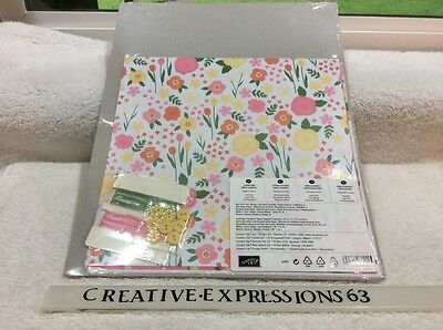 Stampin' Up Flower Fair Simply Scrappin' Kit Brand New In Plastic