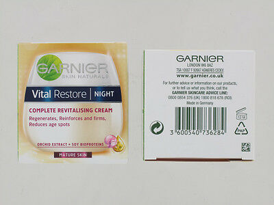 Garnier Vital Restore 50Ml Night Cream