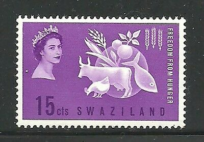 Album Treasures Swaziland Scott # 108  Freedom from Hunger  Mint Never Hinged