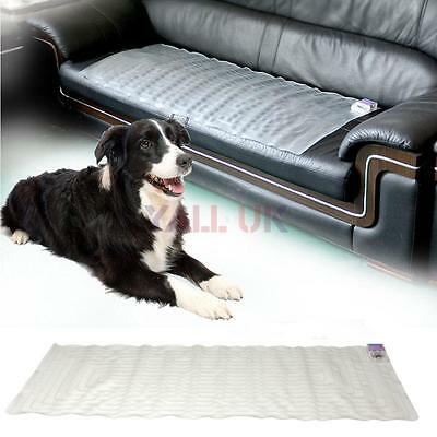 Scat Mat Training Electronic Static Shock Pad Repellent Safe for Cat Dog 48x20