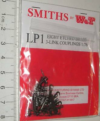 Smiths LP1. 3-Link Couplings (Etched Brass) x 8. (00)