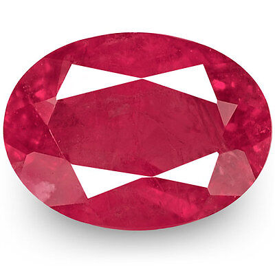 0.28-Carat Deep Pinkish Red Bixbite / Red Emerald from the USA (IGI-Certified)