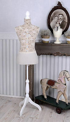 Mannequin Adjustable Tailor's Dummy Country Style Bust