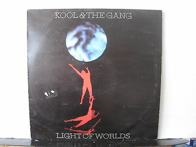 KOOL & THE GANG Light of Worlds POLYDOR RECORDS VINYL LP Free UK Post