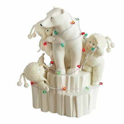 SNOWBABIES NORTHERN LIGHTS  Figurine Ornament Gift Boxed 796014
