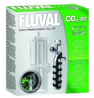 Fluval Mini Pressurised Co2 System Kit Fish Tank #a7540