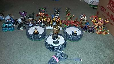 Skylanders Characters Wholesale Lot of 48 + portals! Giants & Spyro series!