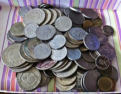 PHILIPPINES Assorted Coins 750 grams/131 pieces Mostly medium to large