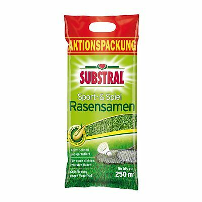 SUBSTRAL Lawn Seed Sport and Game 11.02 LBS Reseeding